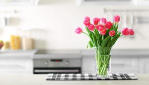 φρεσκοκομμένα λουλούδια