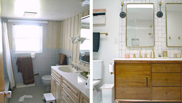 ανακαινίσεις μικρών μπάνιων