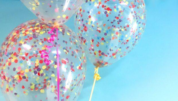 DIY: Φτιάξτε Απίθανα Μπαλόνια με Κομφετί!