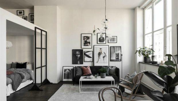 Ένα Μικρό Διαμέρισμα 43 τμ με το πιο Ιδιαίτερο Υπνοδωμάτιο