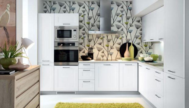 10 Πρωτότυποι Τρόποι για να Βάλετε Ταπετσαρία στην Κουζίνα σας