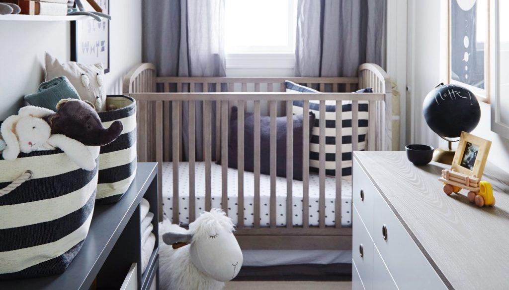 5afcc331f80 Έτσι θα Δημιουργήσετε ένα Βρεφικό Δωμάτιο σε ένα Μικροσκοπικό Σπίτι