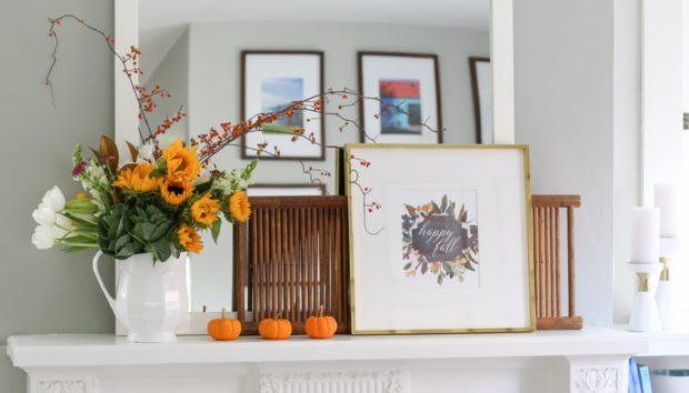 5 Μικρές Διακοσμητικές Παρεμβάσεις για να Υποδεχτείτε το Φθινόπωρο