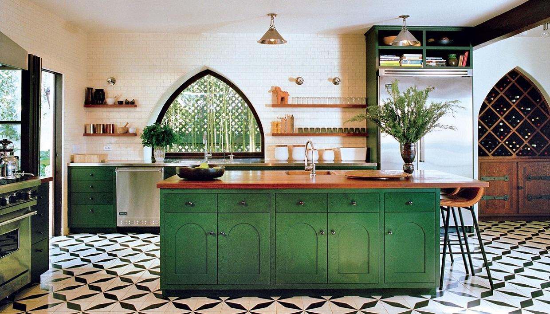 πράσινες κουζίνες