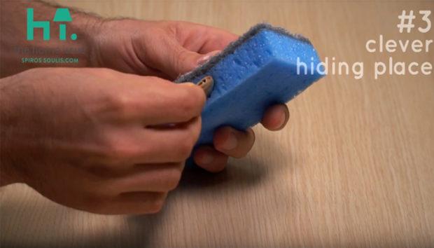 Το spirossoulis.com σας Δείχνει 4 Τρικς για να Χρησιμοποιήσετε το Σφουγγάρι σας Εναλλακτικά! (VIDEO)