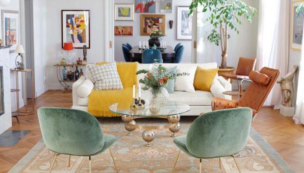 Έτσι θα Φέρετε τα πιο Μοντέρνα Χρώματα του Φθινοπώρου στο Καθιστικό σας