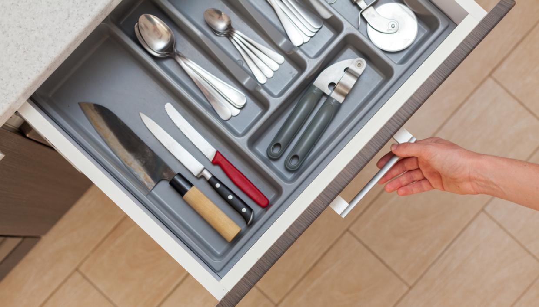 συρτάρι της κουζίνας