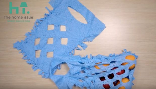 Το spirossoulis.com σας Δείχνει πώς να Φτιάξετε Μέσα σε 5 Λεπτά την πιο Τέλεια Τσάντα για τα Ψώνια σας (VIDEO)
