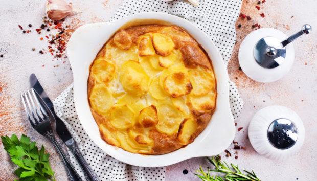 Πατάτες Ογκρατέν (au gratin) με Τυριά από την Madame Ginger!