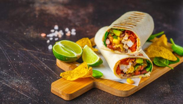Λαχταριστά Burritos με Γλυκοπατάτα και Φασόλια