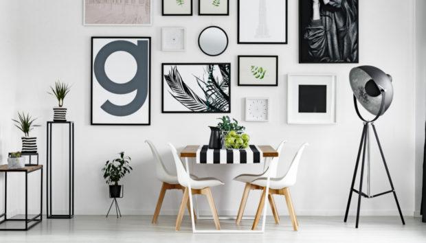 5 Πανέμορφοι Τρόποι για να Κρεμάσετε τα Κάδρα σας στον Τοίχο
