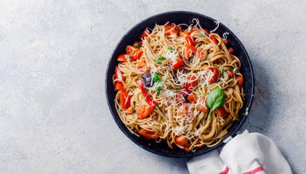 Healthy Μακαρονάδα με Σάλτσα Ντομάτας (High protein)