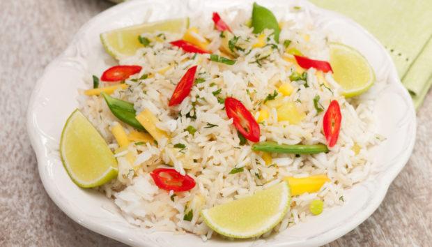 Λαχταριστό Ρύζι με Φασολάκια και Πιπεριές
