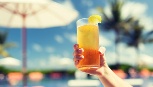 Iced Tea Cocktail με Ιβίσκο!