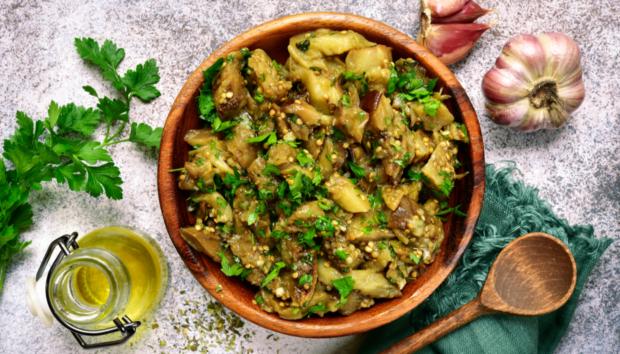 Πεντανόστιμη Μελιτζανοσαλάτα από το Λίβανο