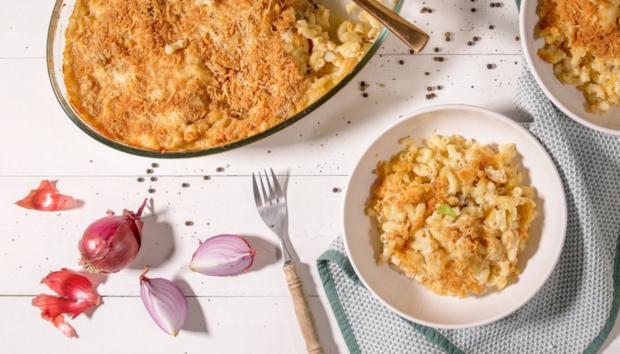 Ελαφρύ & Λαχταριστό Mac & Cheese με Μπεσαμέλ Κουνουπιδιού