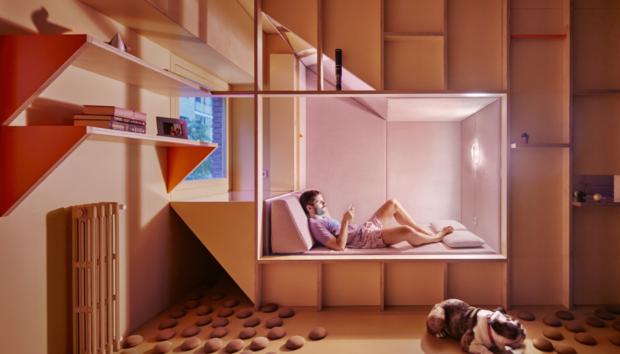 Ένα Διαμέρισμα 46 τ.μ. στη Μαδρίτη που έχει το Δικό του Μικροκλίμα