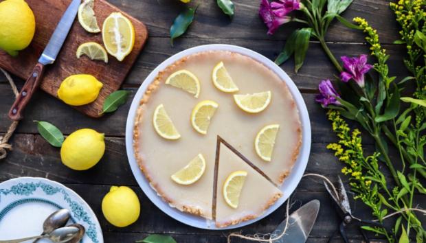 Tάρτα Λεμόνι, Vegan & Νηστίσιμη (Lemon Pie)