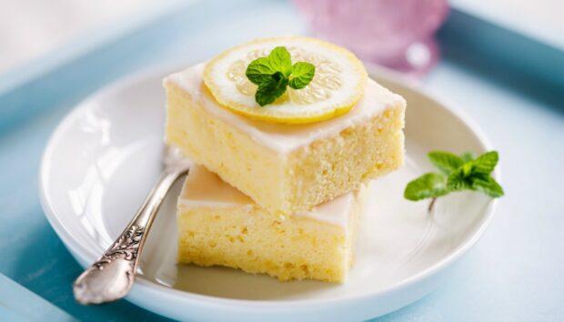 Κέικ Λεμονιού Χωρίς Ζάχαρη! Το πιο Light και Ζουμερό Γλυκό