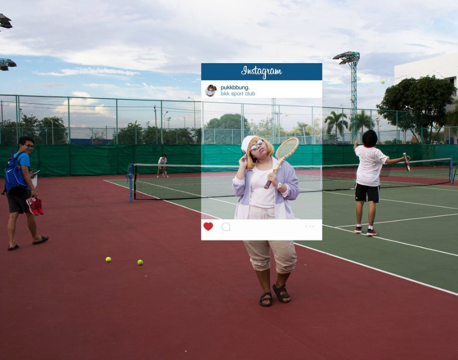 Όσο και άσχετος μπορεί να είσαι με το τένις άλλο τόσο σχετικός μπορείς να φανείς μέσα από μια «ψαγμένη» φωτογραφία.
