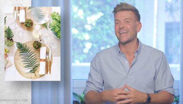Ο Σπύρος Σούλης σας Λέει Πώς θα Φτιάξετε το Τέλειο Τραπέζι για τους Καλεσμένους σας (VIDEO)