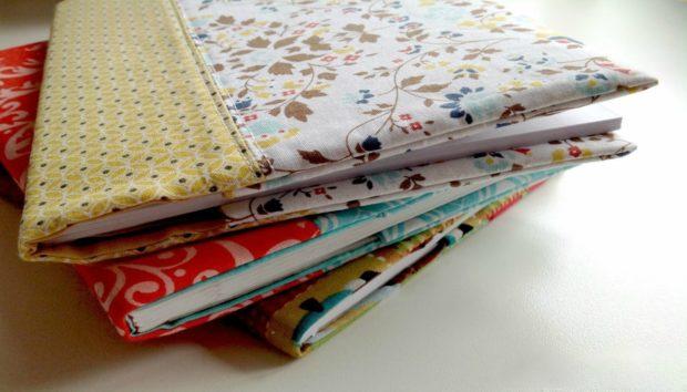 DIY: Ντύστε τα Βιβλία σας με τα πιο Όμορφα Υφασμάτινα Εξώφυλλα