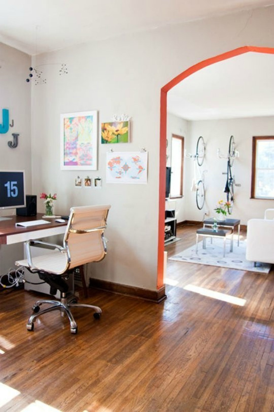 Με πολύ λίγες πινελιές μπορείτε να αλλάξετε την όψη του δωματίου σας.