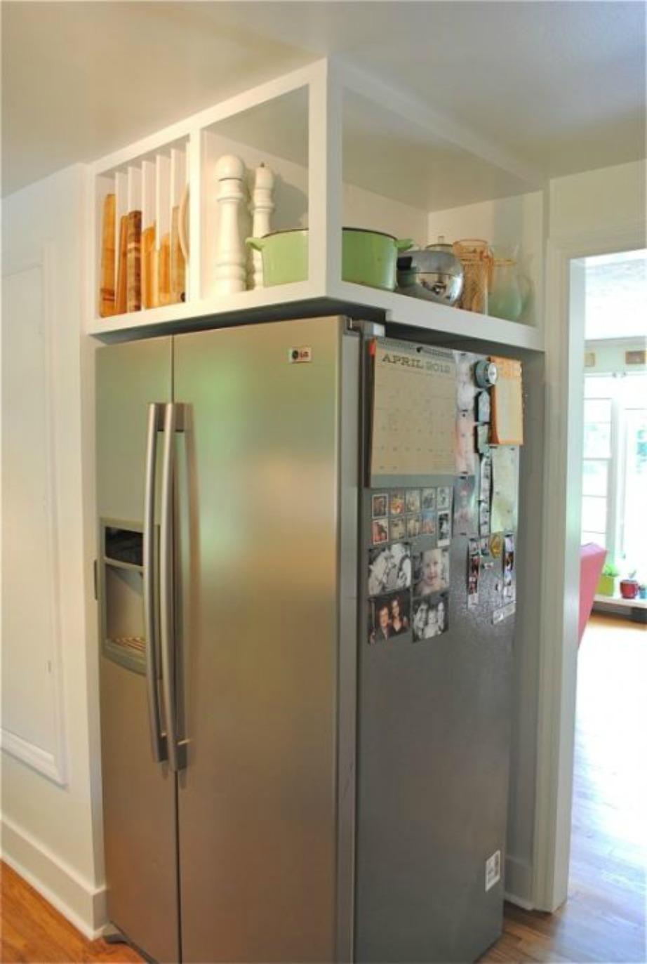 Τα απάντα χωράνε πάνω από το ψυγείο σας!
