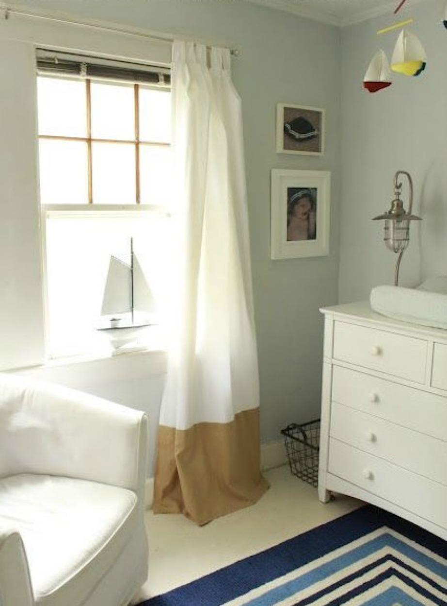 Η διχρωμία θα δώσει ιδιαίτερο στιλ στην κρεβατοκάμαρά σας.
