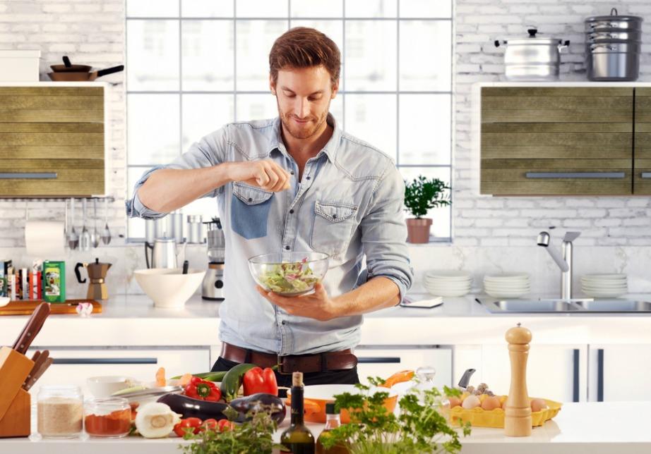 Οι άντρες είναι πιο τολμηροί από την φύση τους και αυτό φαίνεται και στη μαγειρική τους.