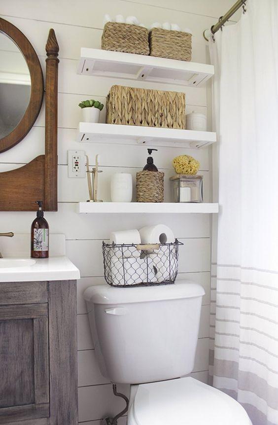Εκμεταλλευτείτε κάθε σημείο του μπάνιου σας κάνοντάς το πιο άνετο και λειτουργικό.