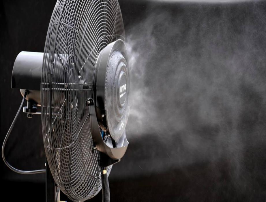 Ανεμιστήρας υδρονέφωσης για μια ευχάριστη και δροσερή ατμόσφαιρα στους υπόλοιπους χώρους ου σπιτιού.
