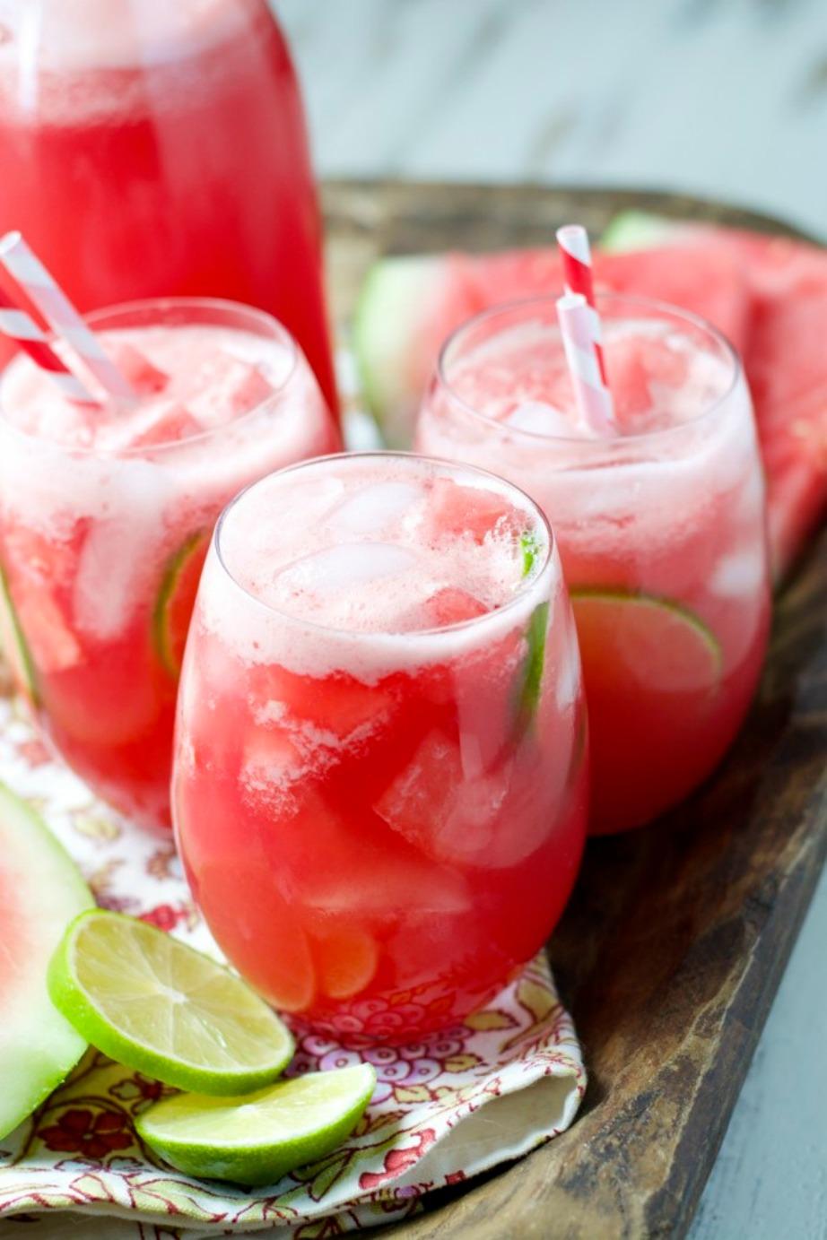 Καρπούζι με χυμό λάιμ, το τέλειος καλοκαιρινός συνδυασμός.