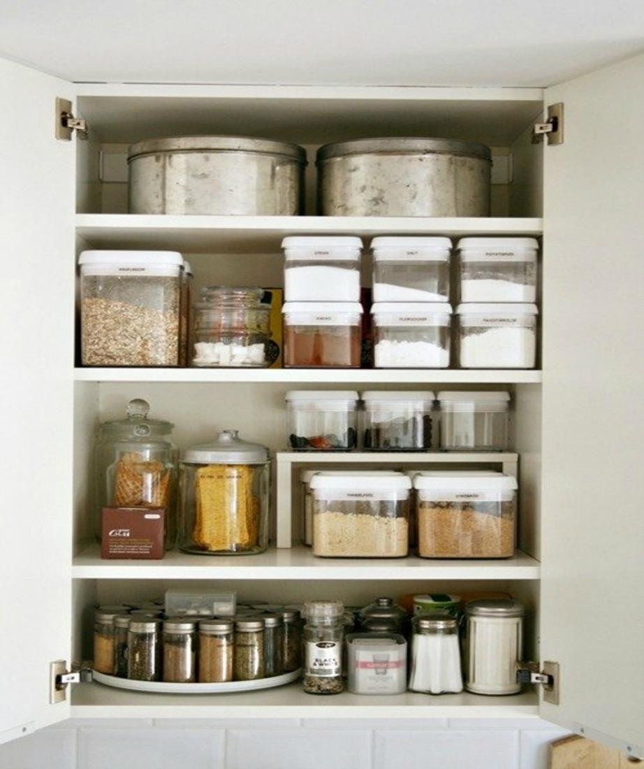 Ένας καθαρός νεροχύτης δεν αρκεί. Πρέπει να έχετε οργανωμένα και τακτοποιημένα τα ντουλάπια σας.