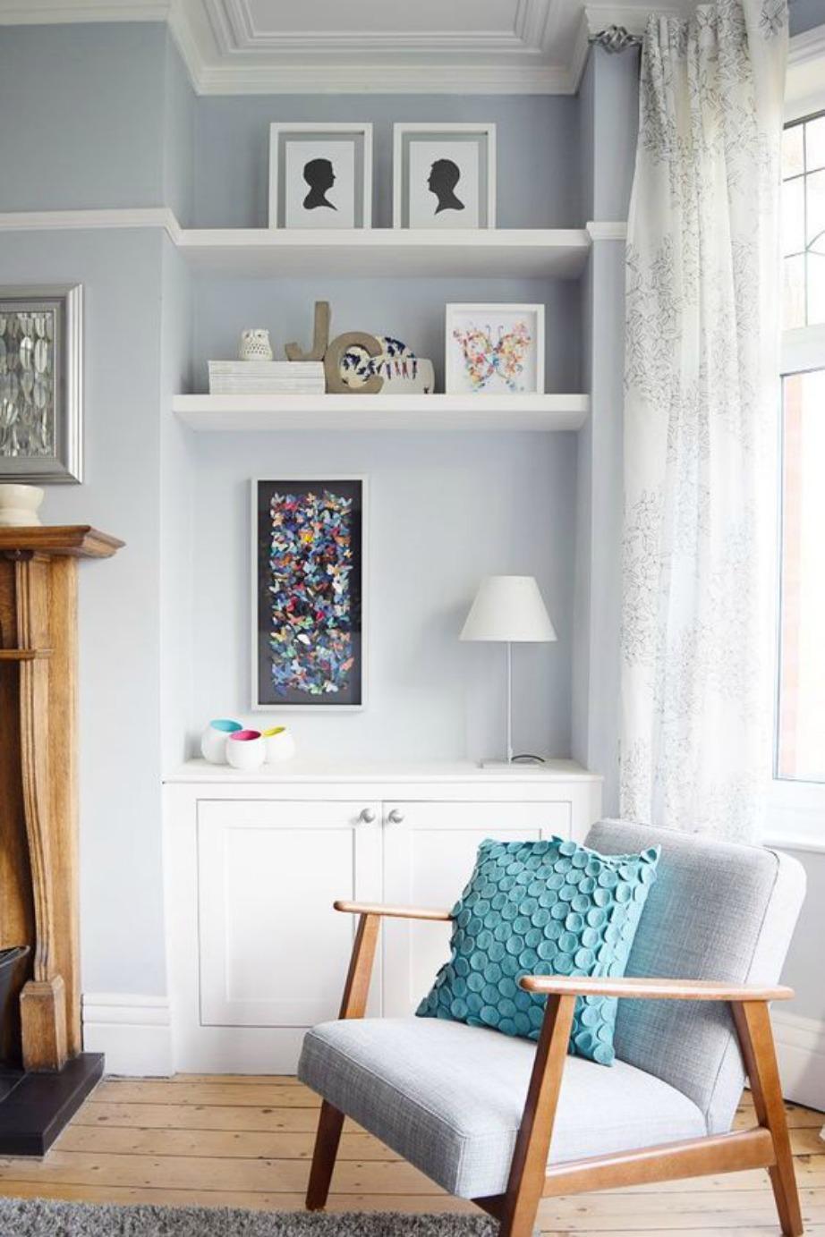 Η πολυθρόνα είναι απαραίτητο στοιχείο για ένα άνετο και παραδεισένιο υπνοδωμάτιο, αν φυσικά ο χώρος το επιτρέπει.