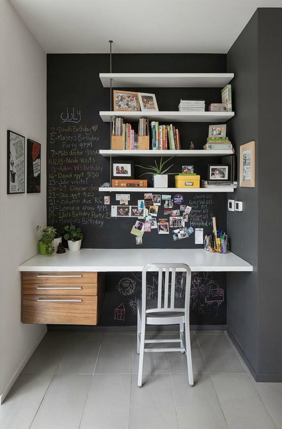 Τα ράφια είναι σωτήρια σχεδόν σε όλα τα δωμάτια που αντιμετωπίζουμε πρόβλημα χώρου και αποθήκευσης.