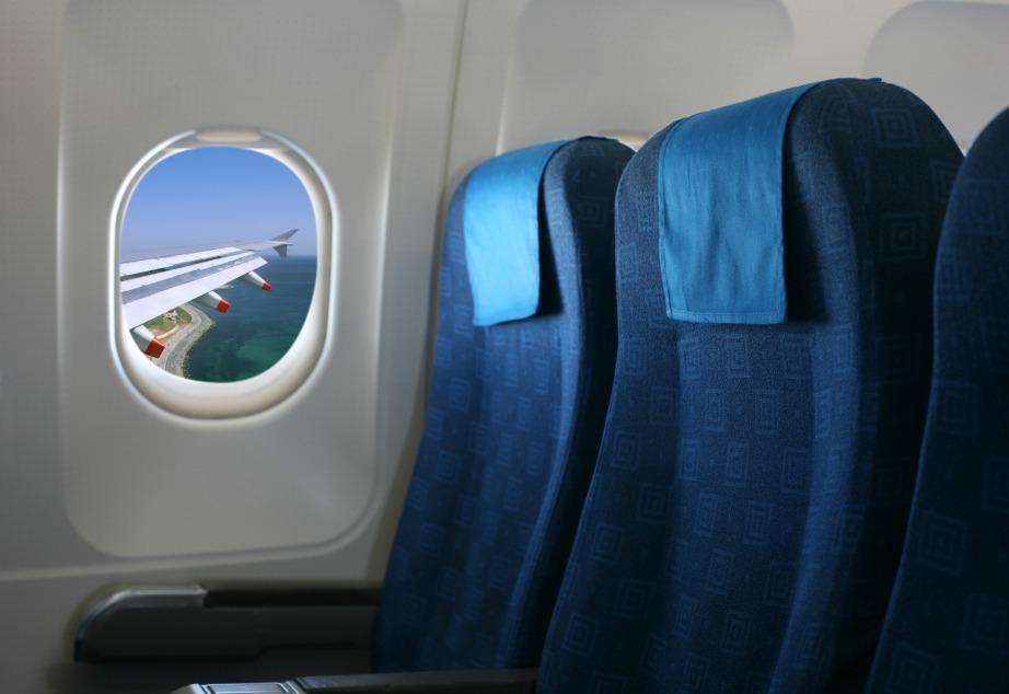 Οι θέσεις ακριβώς πάνω από τα φτερά του αεροπλάνου είναι ιδανικές για εσάς που τρομάζετε ή σας ενοχλούν οι αναταράξεις.