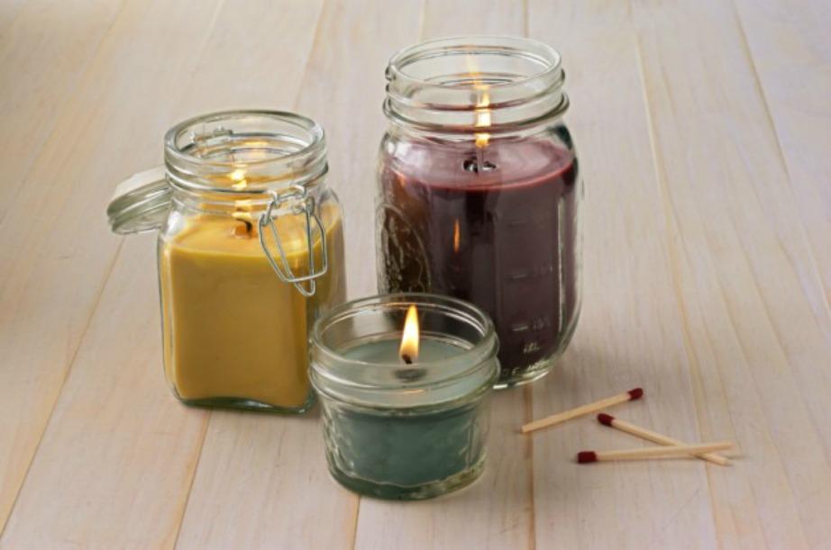 Μπορείτε να αφήσετε να κεριά σας μέσα στο καλούπι.