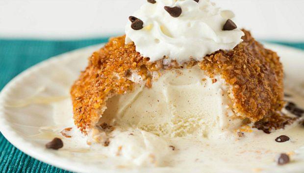 Φτιάξτε Εύκολα Νόστιμο Τηγανιτό... Παγωτό!