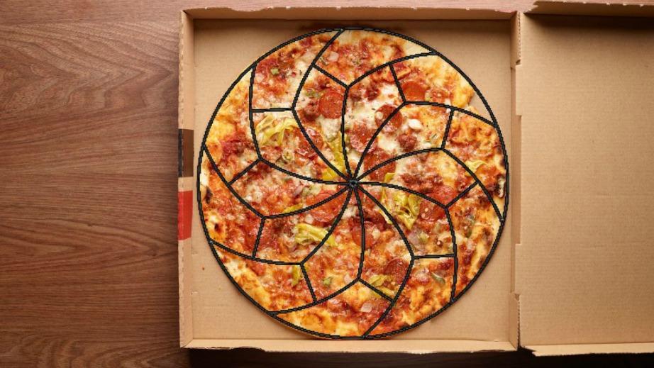 Οι 2 επιστήμονες συνέχισαν να δοκιμάζουν πίτσα, αλλά και τρόπους για να την μοιράζουν δίκαια.
