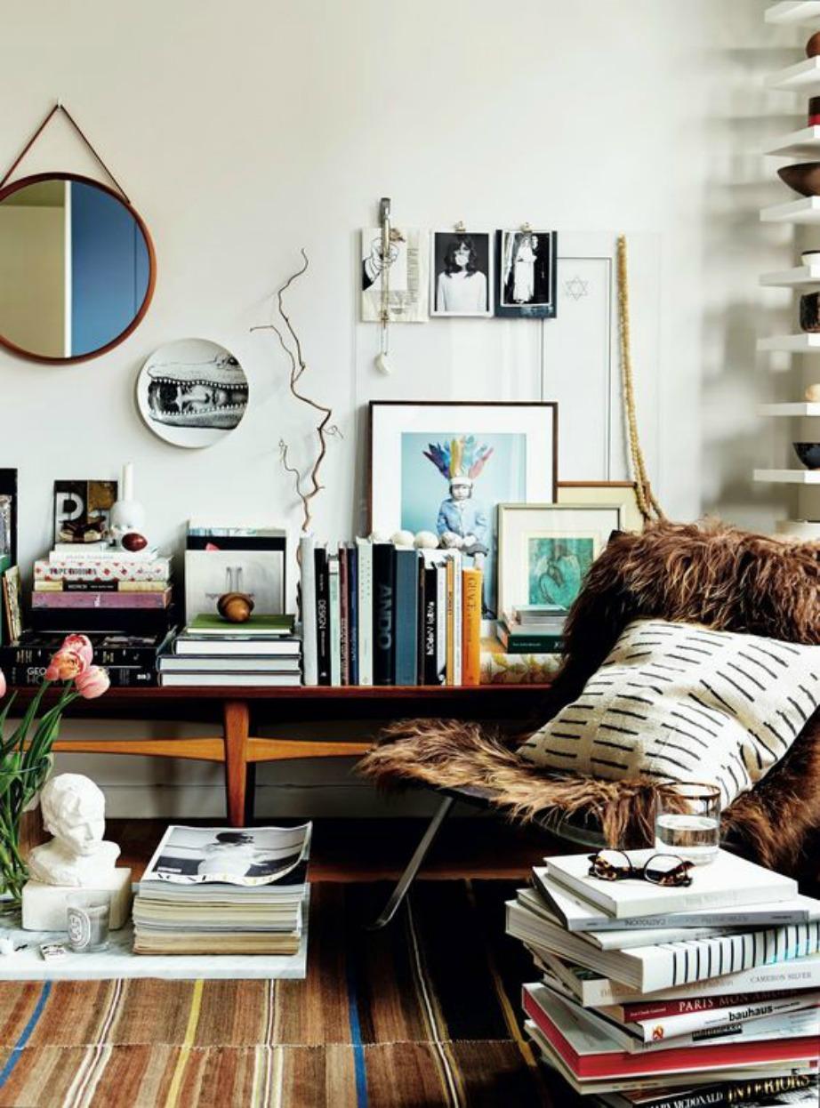 Τα βιβλία είναι ιδανικά και για διακοσμητικές χρήσεις ενώ ανεβάζουν το επίπεδο του χώρου σας.