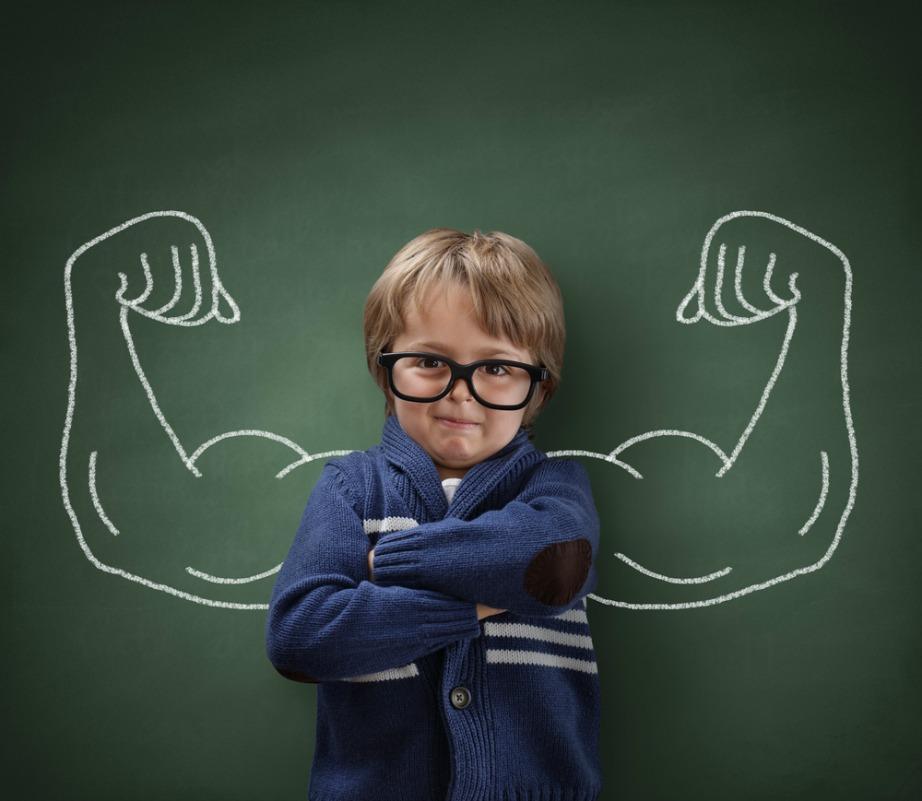 Κάντε το παιδί σας να νιώθει δυνατό και γεμάτο αυτοπεποίθηση.