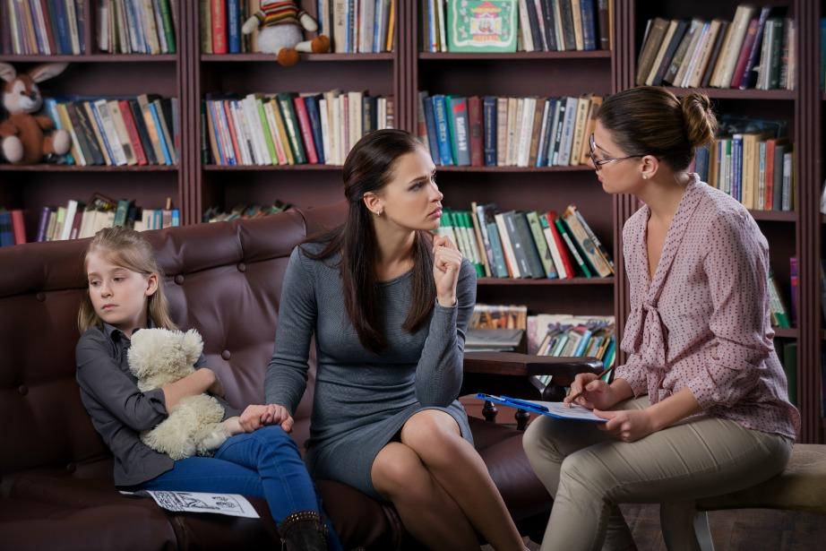 Συμβουλευτείτε έναν ειδικό μαζί με το παιδί σας.