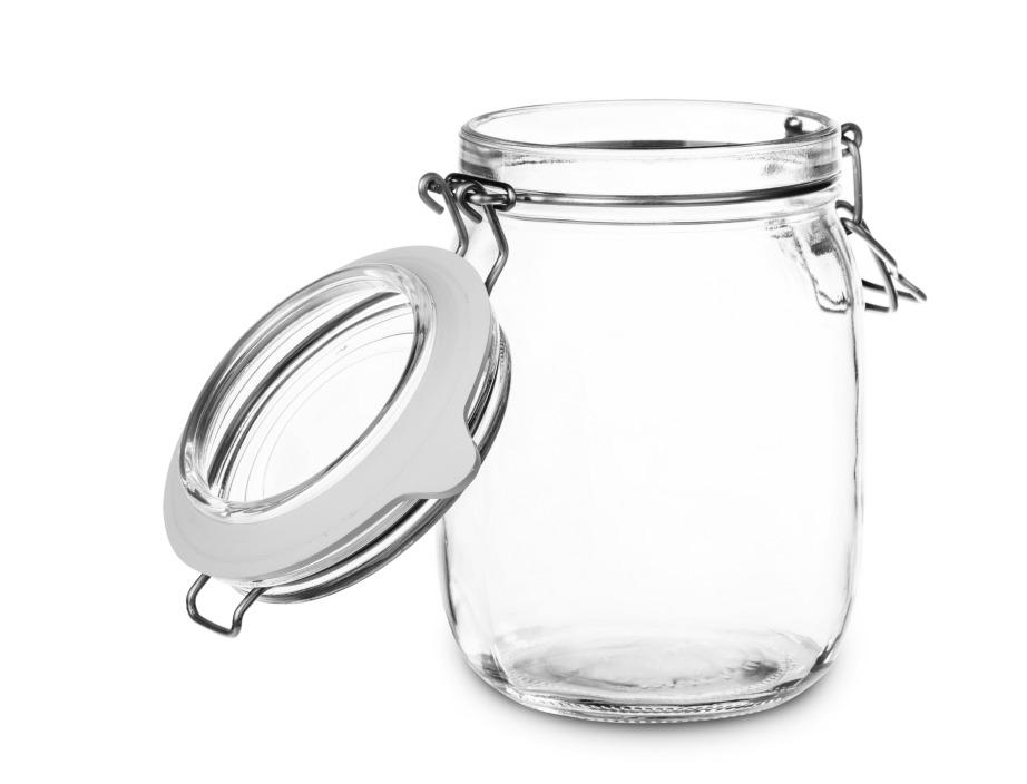 Χρησιμοποιήστε για καλούπι ένα γυάλινο ποτήρι ή βάζο με μεγάλο στόμιο.