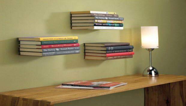 Πρωτότυπο DIY: Φτιάξτε Μόνοι σας μια Αόρατη Βιβλιοθήκη