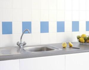 Βάψτε τα πλακάκια σας σε κοντινές αποχρώσεις για πιο ευχάριστο αποτέλσμα.