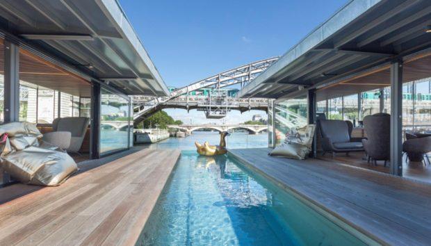 Δείτε το Πρώτο Πλωτό Ξενοδοχείο στο Παρίσι