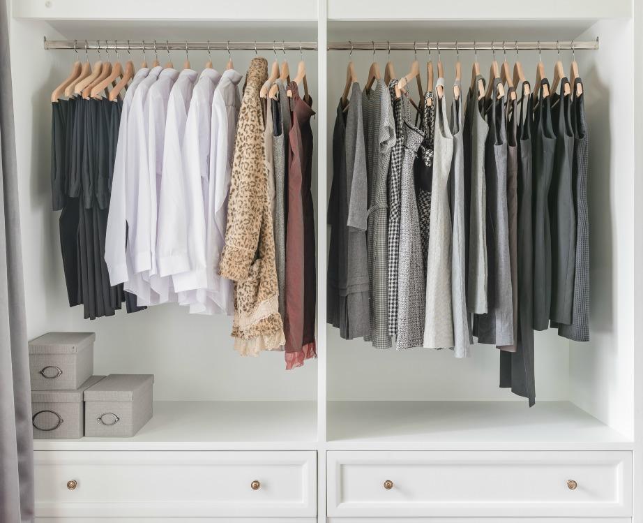 Μία οργανωμένη ντουλάπα θα κάνει τη ζωή σας πιο εύκολη!