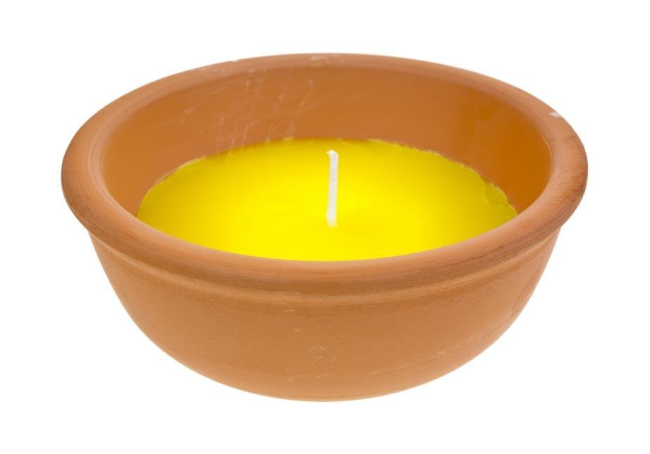 Ο καπνός είναι εχθρός των εντόμων ιδιαίτερα αν προέρχεται από εντομοαπωθητικό κερί.