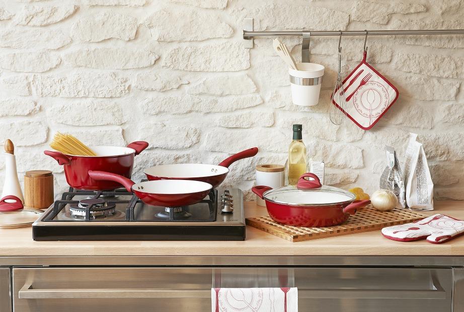 Το ξεκίνημα του μαγειρέματος πρέπει να γίνει όταν όλα θα είναι έτοιμα και τακτοποιημένα.